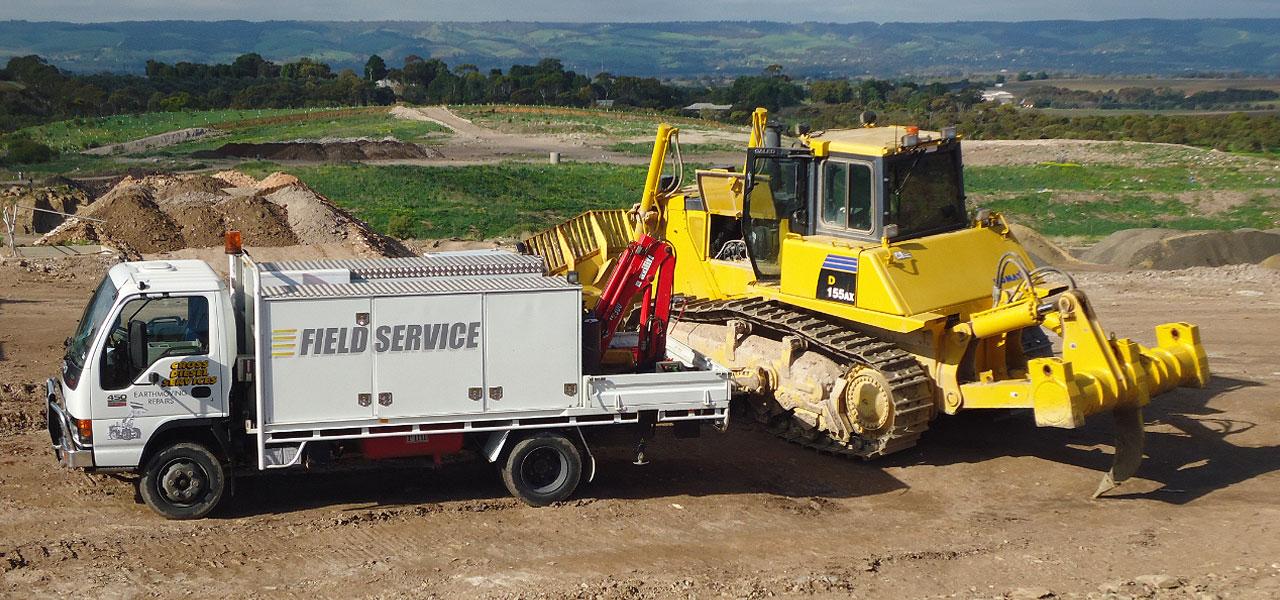 Line Boring Services On-Site Maintenance Crew
